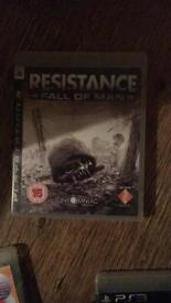 Resistance fall of man ( PS3 )