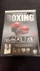 The best of boxing 4 dvd and magazine collection (sealed)