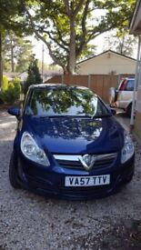 Vauxhall Corsa 1.2 Blue 57 Petrol Manual for Sale MOT&SERVICED Oct 2017