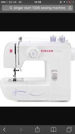 Singer start 1360 sewing machine and bag