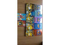 simpsons dvd boxsets seasons 1 to 10 ,plus another 2,excellent condition