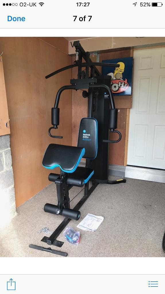 Men s health elite active multi gym in wallsend tyne