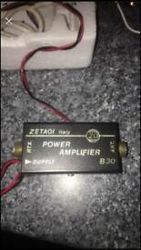 Cb / zetagi power amp