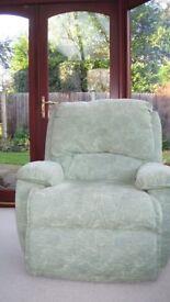 Gplan green arm chair