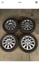RENAULT MEGANE SCENIC 16 INCH ALLOY WHEELS WITH TYRES SET