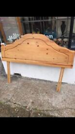 King size pine headboard only £25ono