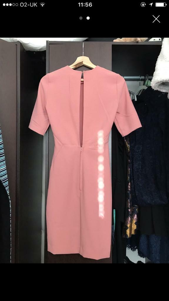 H&M open back cocktail dress