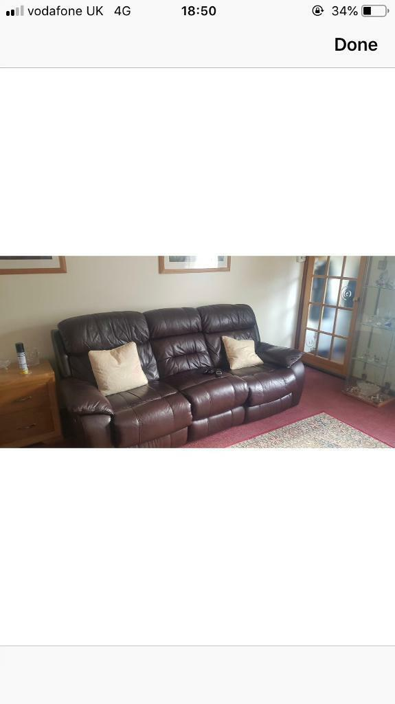 Marvelous Leather Lazy Boy Sofa In Bristol Gumtree Ocoug Best Dining Table And Chair Ideas Images Ocougorg