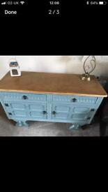 Hand Painted Old Charm Sideboard