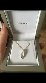 H Samuel necklace still in box