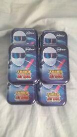 Top Gear Turbo Attax cards plus tins