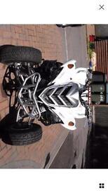Yamaha raptor quad bike 700cc