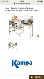 Kampa camping kitchen