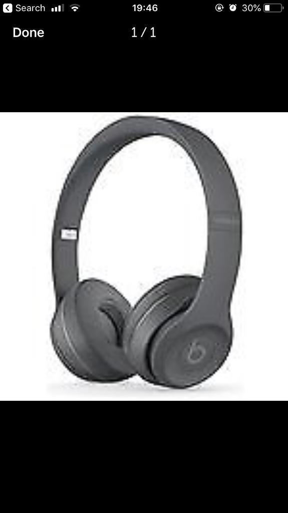 Brand new beats solo 3 Bluetooth wireless,grey , sealed in a box   | in  Hamilton, Leicestershire | Gumtree
