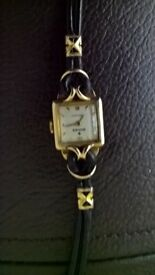 GENUINE LADIES SOLID GOLD ROLEX LADIES WATCH