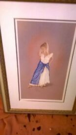 Large Framed Limited Edition Picture