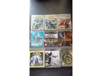 Ps3 games some opened but unused