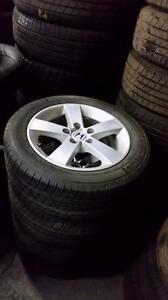 195 65 15 or 205 55 16 on OEM Honda Civic Alloy rims 5 x 114.3 from $500 set of 4