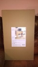 brand new computer desk , boxed not opened.