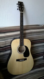 acoustic guitar new Martin strings