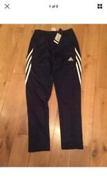 Brand new Adidas skinny fit pants age 11-12