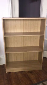 Two x three tier book shelves