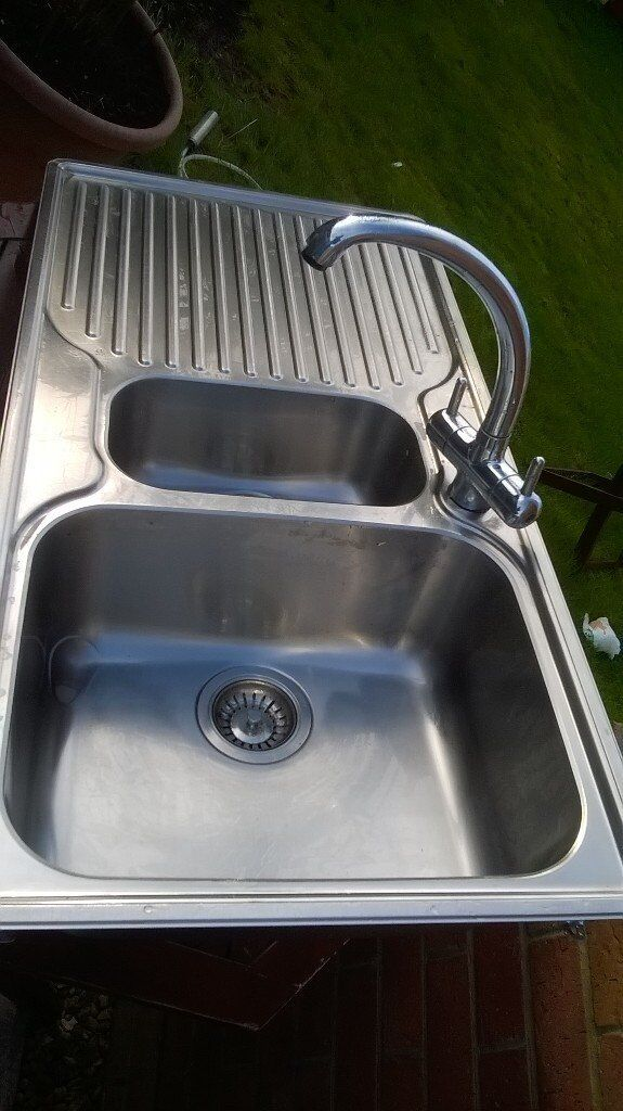 franke sinkin Weymouth, DorsetGumtree - Franke 1 1/2 bowl stainless steel with kitchen tap with basket. Good quality please ask for more information