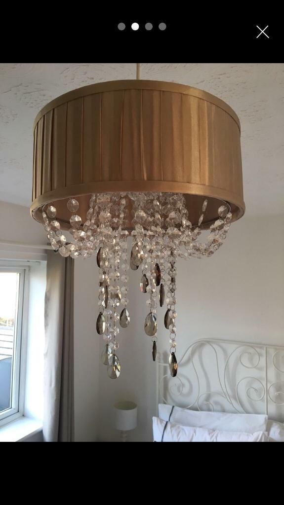 Chandelier Champagne shade