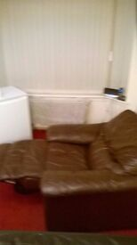 electric leather recliner chair brown leather