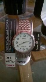 Timex perpetual calendar gent's watch.