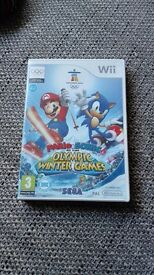 Wii Mario and Sonic olympic winter games