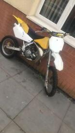 Suzuki rm80 boarded out to 85