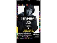 £80 1 Eminem Ticket Bellahouston