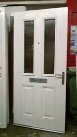upvc composite door no frame 36 inches wide x 79 inches high in good condition call 07498143887