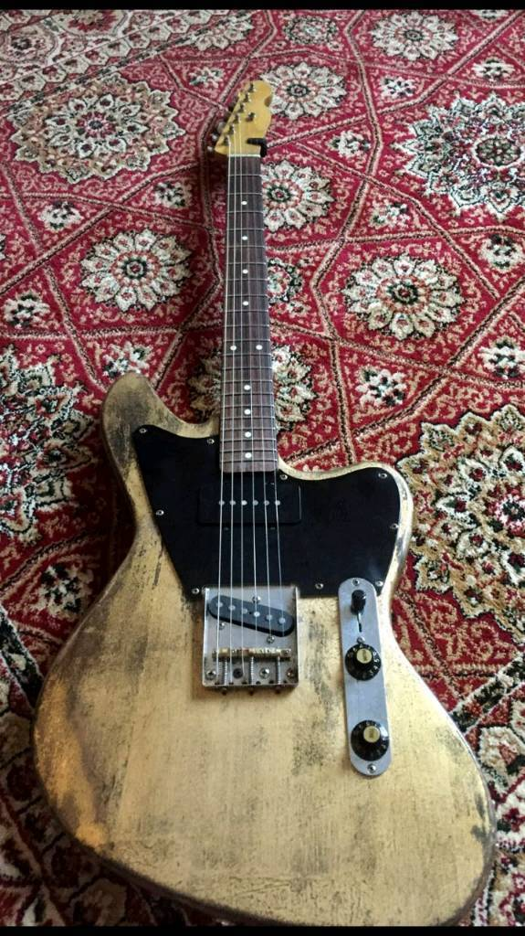 89ed6c9df87 Jazzmaster Telecaster swap trade gear golden leaf relic 2017 guitar ...