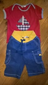 Baby Boden shirt and trousers baby boy 3-6 months