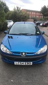 Peugeot 206 S 1.4, 2005 AUTOMATIC FULL SERVICE HISTORY, VERY LOW MILEAGE, 1 LADY OWNER