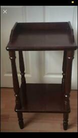 Telephone table side table £10