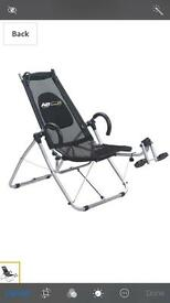 AB lounge XL sit up machine. Fitness machine. Great fun.
