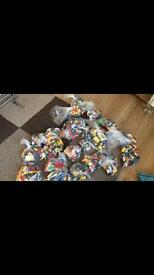 Bags of lego