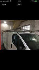 Rax rack racking system roof vivaro primastar traffic