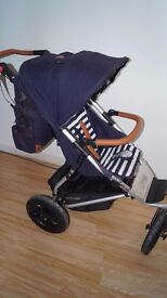 Mountain Buggy Urban Jungle Nautical Luxury collection and Year of the Monkey