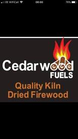 Kiln dried Hardwood Logs - Cheaper than Seasoned Firewood