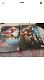 Flash season 1 and 2 sealed DVD collection