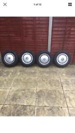 BMW E30 r14 wheels