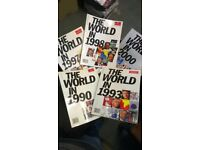 Rare collection of Historical Magazines from the 1990s - The Economist - Yearly Publication - £5