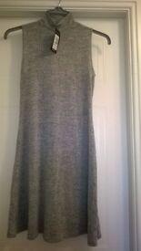 Ladies New Look Grey Dress