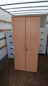 Beech office cabinet