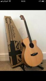 Stunning Electro acoustic guitar Ovangkol wood Still New