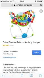 Baby Einstein jumparo